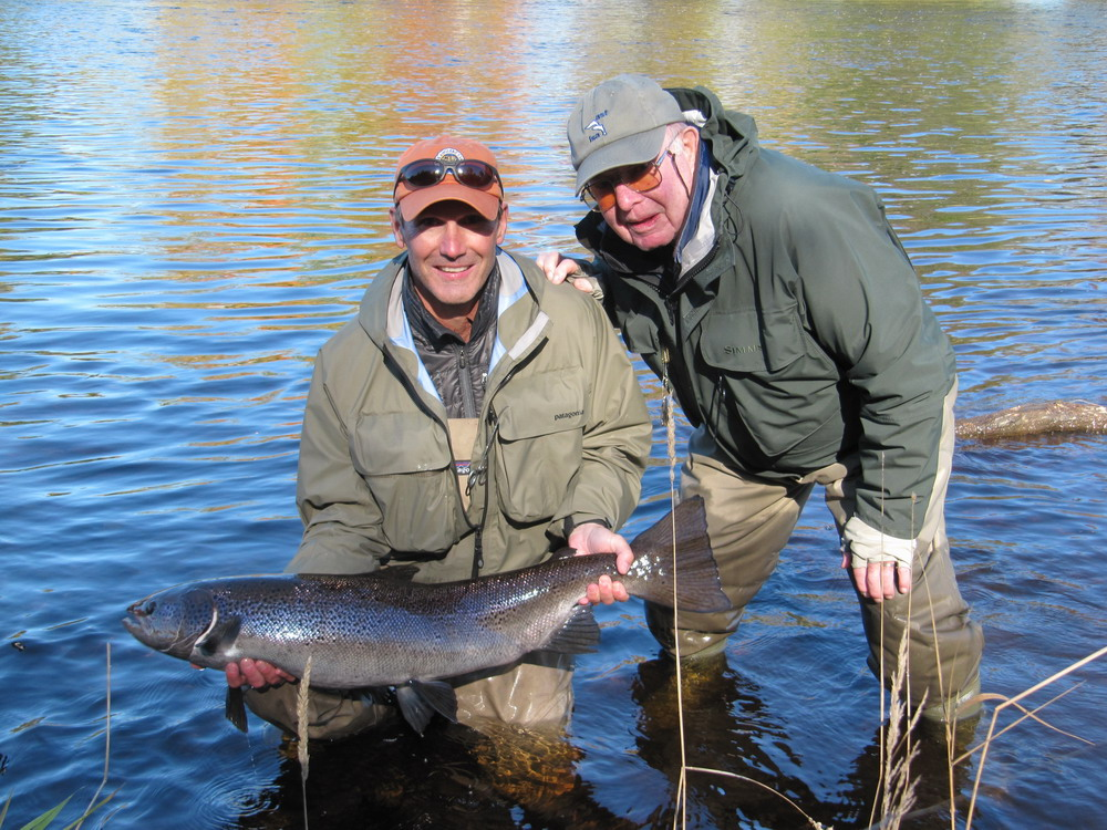 Keith wilsons 2010 miramichi river report for Wilson river fishing report