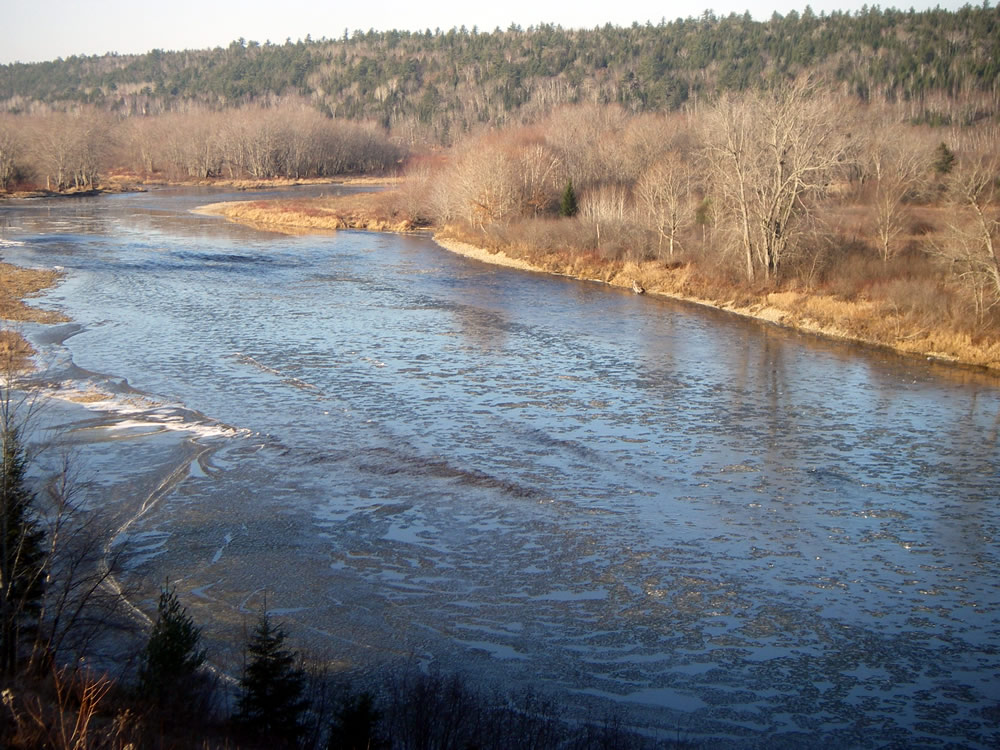 Miramichi River Ice 2012