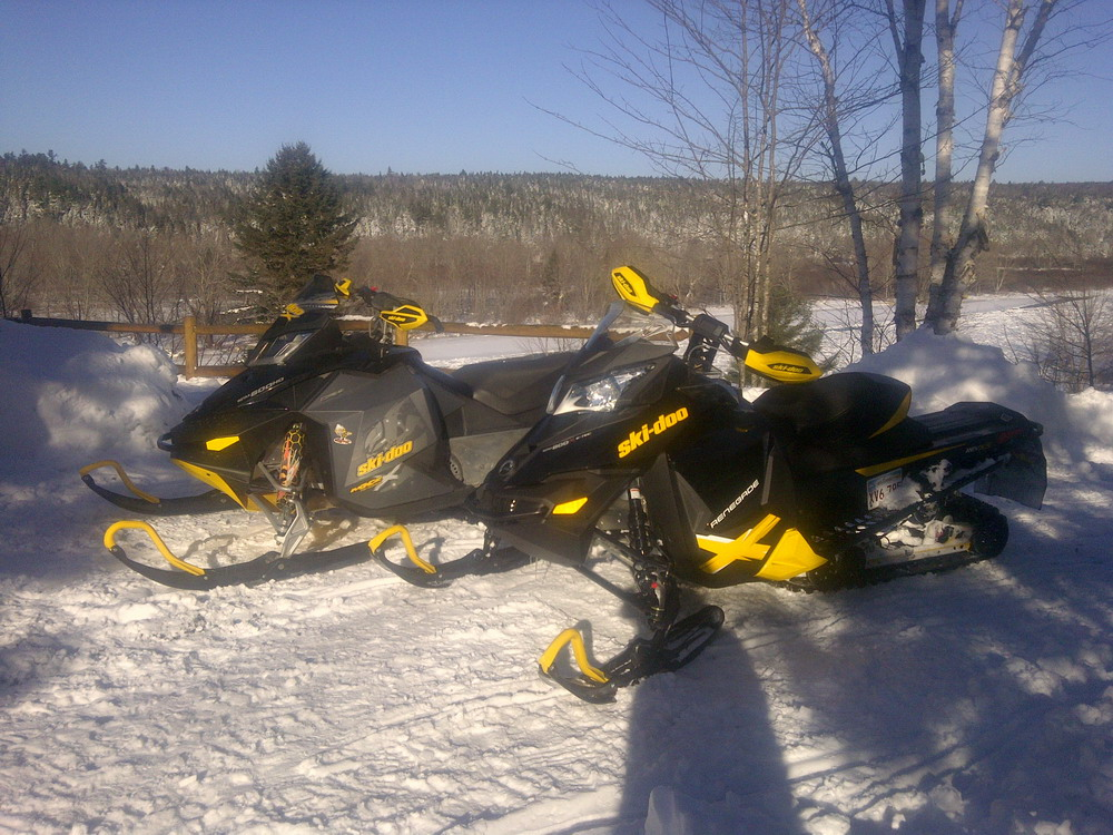Ski-doo demo ride