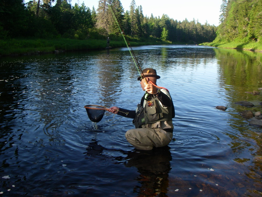 Keith wilson s 2012 miramichi river report for Wilson river fishing report