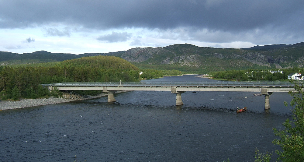 Alta River, Norway (image: wikipedia)