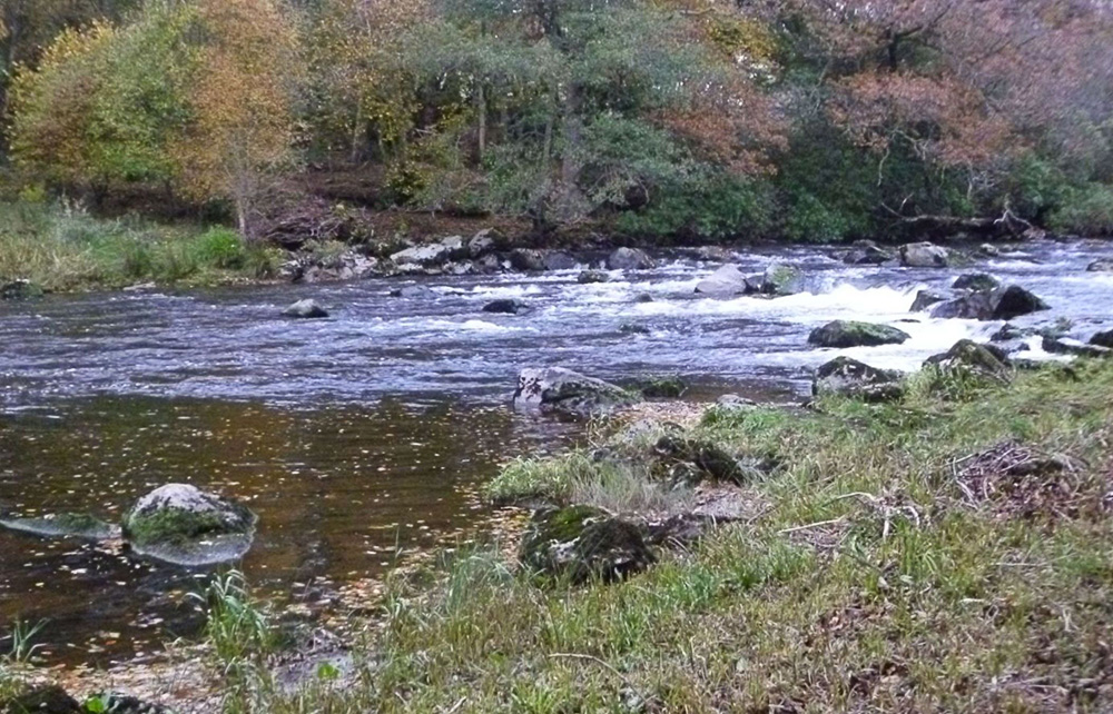 Riffles on the Wye River in Wales. Photo Stuart Smith