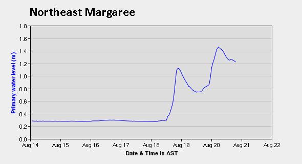 Northeast Margaree finally received enough rain to increase the Atlantic salmon activity.