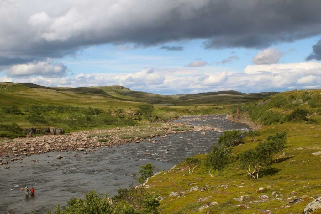 Rynda River. Photo Atlantic Salmon Reserve