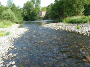 River Allier.