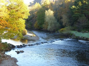 The Wye River has extensive tributaries in central Wales, Photo Stuart Smith