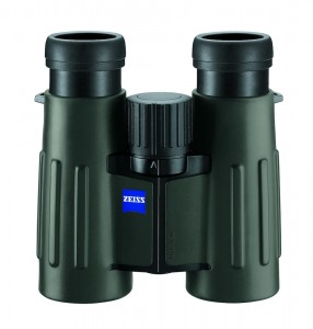 Zeiss Vicrtory T FL 8x32 may be the best binoculars ever made. But they are possibly too bulky for most salmon anglers, except around a cabin or tent. Weight 19 oz.