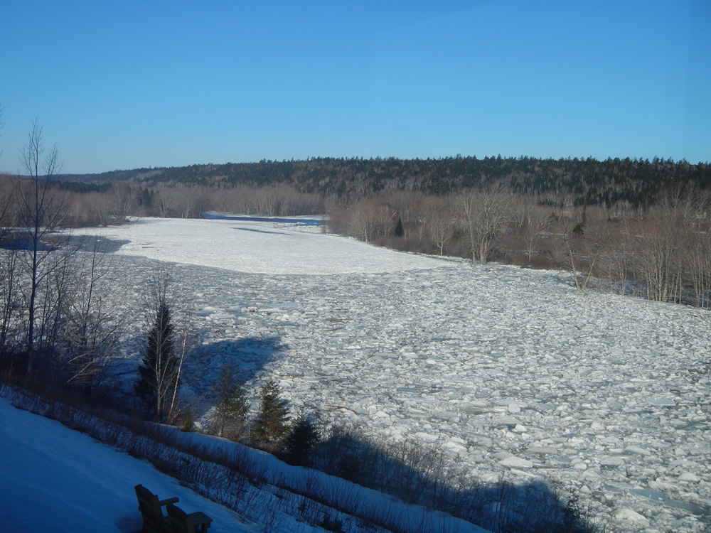 Wilson s miramichi river ice report for Wilson river fishing report
