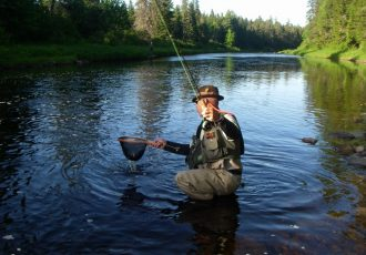 Wilson's Miramichi Trout Report May 24