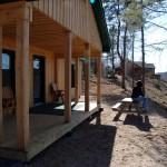 Wilsons New Cabin on the Miramichi River