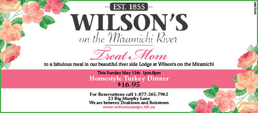 Mothers Day at Wilsons