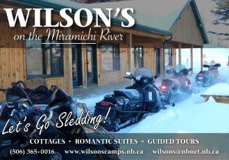 Wilson's Snowmobile Cottage Discounts