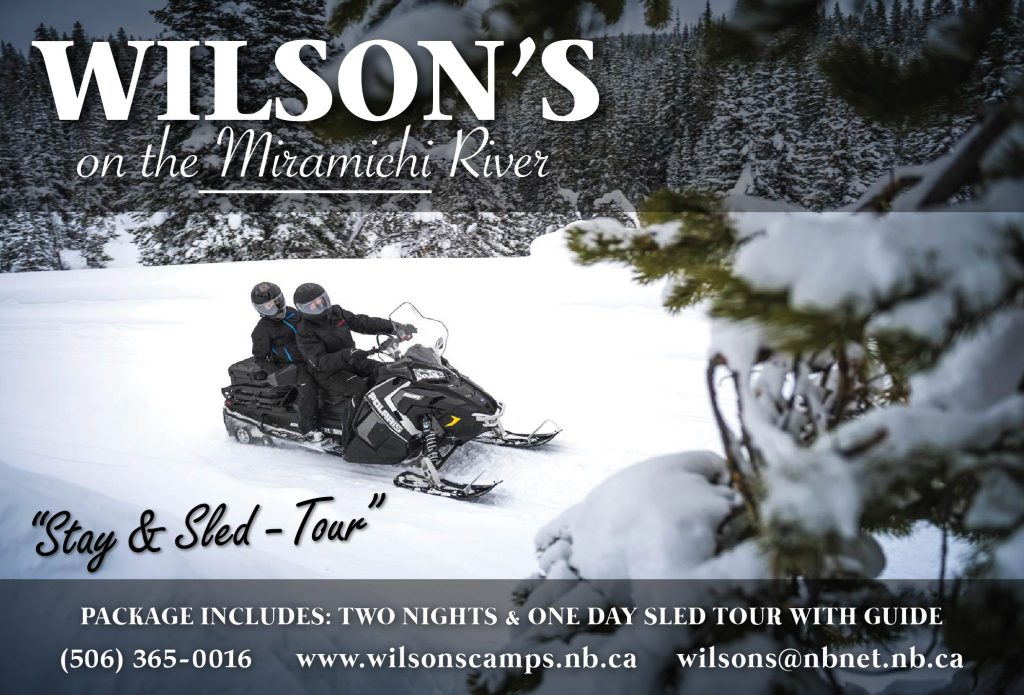 Snowmobile Rentals in New Brunswick Canada